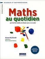 Ce livre est une banque de jeux, à utiliser plutôt en ateliers ou en centres mathématiques. Les activités sont détaillées de manière précise, ainsi que les apprentissages visés (objectifs/compétences), et le matériel nécessaire.