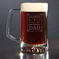 He used to be the best at chugging beer but now he is a master at changing diapers! Awesome custom gift for dad on Father's Day