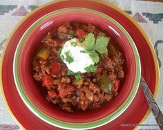 Crowd-Pleasing Beanless Chili | Gluten Free, Low Carb | Wheatless Buns