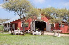 Texas Hill Country Rustic Barn Wedding: Sarah   Trey