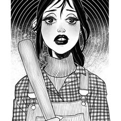 Wendy Torrance, an art print by Anna Rosenkrans Birkedal Scary Movies, Horror Movies, Horror Drawing, Retro Poster, Horror Icons, Arte Sketchbook, Iconic Movies, The Shining, Film Serie