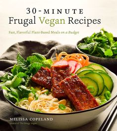 """Read Frugal Vegan Recipes Fast, Flavorful Plant-Based Meals on a Budget"""" by Melissa Copeland available from Rakuten Kobo. Incredible Budget-Friendly Plant-Based Meals for the Busy Home Cook Think maintaining a vegan diet is draining on the wa. Cookbook Recipes, Vegan Recipes, Vegan Meals, Easy Recipes, Dinner Recipes, Vegan Food, Dinner Ideas, Healthy Food, Healthy Eating"""