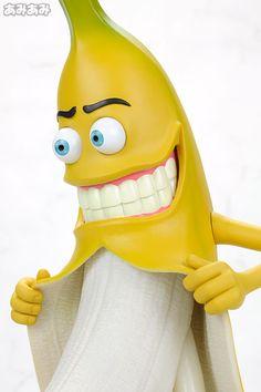 Mr. Bad Banana Vinyl Figure (Normal Version: Blue Eyes)