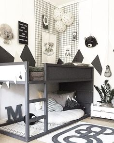Most recent Pic The Boo and the Boy: Loft Beds .- Most recent Pic Der Boo und der Junge: Hochbetten Most recent Pic The Boo and the boy: loft beds - Boys Loft Beds, Kid Beds, Toddler Rooms, Baby Boy Rooms, Girl Rooms, Toddler Boy Beds, Ikea Toddler Bed, Baby Room, Cool Kids Bedrooms