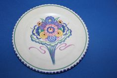 1920s Poole Pottery Plate by Carter Stabler & Adams | eBay