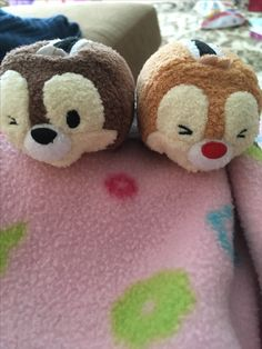 Chip and dale Tsum tsums! I recently received these from my sister!