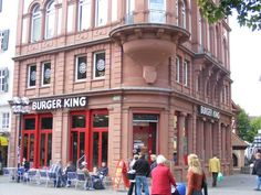 Burger King. Kaiserslautern; Germany