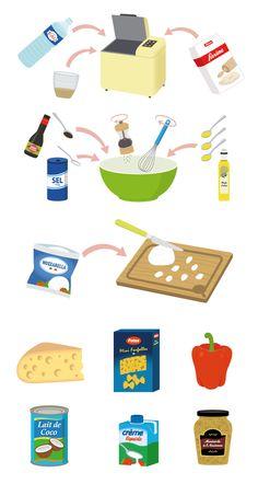 extraits de recettes et ingredients by Nesk