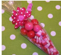 Valentines candy. Cute party favor/teacher gift idea!!
