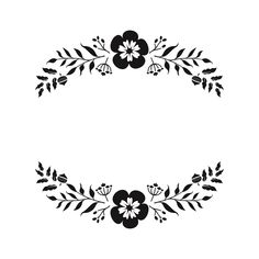 Floral Monogram Paper Cut Out Files Alphabet Cursif, Embroidery Patterns, Hand Embroidery, Paper Flower Patterns, Illustration Blume, Flower Logo, Freebies, Diy Crafts For Gifts, Custom Stamps