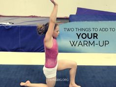 Two things to add to your warm-up (that aren't stretching) -- Swing Big!