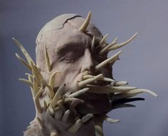 Dear readers and viewers, be ready for The Horror Art Sculptures By Sarah Sitkin. Sarah Sitkin is a Los Angeles based contemporary artist. Her human art sculpt Arte Horror, Horror Art, Creature Feature, Creature Design, Dark Fantasy, Fantasy Art, 3d Art, Human Art, Human Human