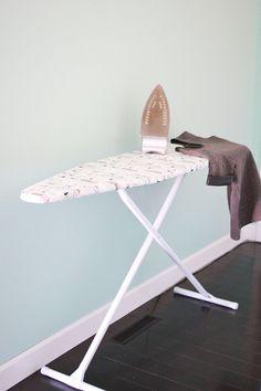 Ironing Board Cover DIY abeautifulmess.com