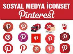 Merhaba arkadaşlar bu icon set paylaşımımızda pinterest tir. zamanla tüm sosyal medya icon set paylaşımlarını  tamamlayacağım. iconlarımız yine png formatlıdır. boyut ortalama 128 px dir. Çalışmalarınızda kullanırken boyutlandırabilirsiniz yeniden..... http://www.birwebdesign.com/sosyal-medya-icon-set-pinterest/