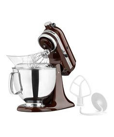 Look what I found on #zulily! KitchenAid Espresso Artisan 5-Qt. Stand Mixer by KitchenAid #zulilyfinds