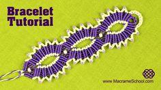 Macramé | Triple Sun Bracelet | Tutorial by Macrame School