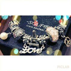 zoe's soufeel charms bracelet!!! wwwsoufeel.com
