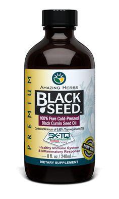 Premium Black Seed Oil - 8oz, Black Seed Products,