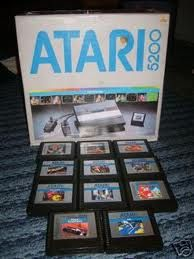 The Atari 5200! used to fight with my brother over this...all the time!