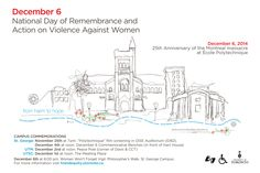U of T Commemorates National Day of Remembrance & Action on Violence Against Women Faculty And Staff, 25th Anniversary, New Work, December, Action, Day, Women, Group Action, Women's