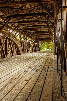 Parsonsfield-Porter Covered Bridge, Porter, Maine, one of my favorites. Very few covered bridges standing these days.