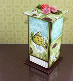 great tutorial on how to make this adorable tea bag holder