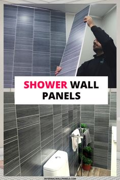 Are you looking to find stunning shower wall panels to transform your bathroom into your own personal sanctuary? Whether you're planning to renovate your old shower or create the wetroom of your dreams, we're confident that you'll find one in our stunning range. Bathroom Wet Wall, Bathroom Paneling, Bathroom Cladding, Wall Cladding, Bathroom Ideas, Wet Wall Shower Panels, Wet Rooms, Roosevelt, Confident