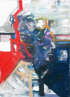 "Saatchi Online Artist Niko Tarka; Painting, ""mind1"" #art"