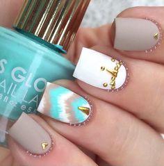 95 Beautiful & Trendy Nail Art Designs That You Will Love Ongles Beiges, Matte Nail Polish, Nail Polishes, Plain Nails, Trendy Nail Art, Perfect Nails, Diy Nails, Neon Nails, Beauty Nails