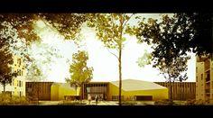 Mediatheque by Patxi Mangado. Image by GRAPH