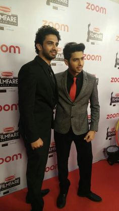 Brothers Armaan Malik and Amaal Malik gear up for the pre-award party of #BritanniaFilmfareAwards