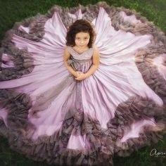 ANNA TRIANT COUTURE Cute Girl Dresses, Lovely Dresses, Flower Girl Dresses, Little Girl Gowns, Gowns For Girls, Birthday Dresses, Wedding Party Dresses, Girls Fashion Clothes, Girl Fashion