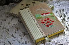 Блокноты ручной работы с вышивкой Екатерины Майоровой