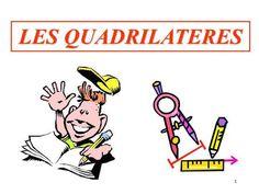 1 LES QUADRILATERES. 2 Quadrilatère Rectangle Losange Carré Cerf-volant.