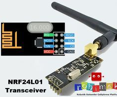 Control a Servo! I will discuss the use of NRF24L01 transceiver module of the models commonly used in wireless communications.You can use it easily to your use of this module is very easy and good range of projects. In addition, the price is also affordable. Low power consumption and 2.4GHz frequency operation also gives us the advantage.http://www.robimek.com/arduino-ile-nrf24l01-rf-modul-kullanimi/http://make.robimek.com/arduino-using-nrf24l01-rf-module/