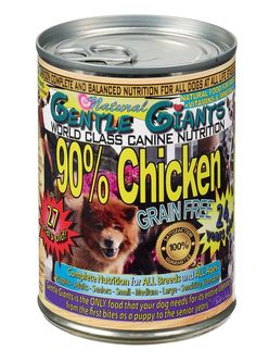 Gentle Giants All Natural Grain Free 90% Chicken, 13oz, Case of 12 >>> Startling review available here (This is an affiliate link and I receive a commission for the sales) : Dog food