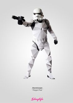 Storm Trooper Poster… going in the living room.