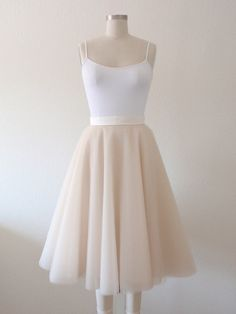 It's like a ballerina skirt or tutu for adults!
