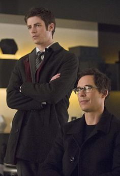 1X18 All Star Team Up  - Barry & Dr Wells