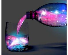 Glowing Galaxy Cocktails - The 'Aurora Jungle Juice' Drink Recipe is Sure to Blow Your Mind