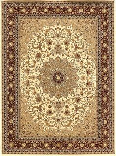 Rugs Cream And Burgundy Persian Oriental Rug Area