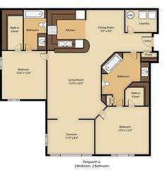Linden Lane Apartments floorplan 1