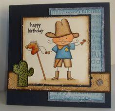 Stempeln-macht-Spass: Cowboy Kid