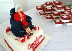 #bolo #decorado #aniversário #vovó