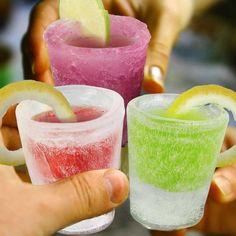 Bicchierini di ghiaccio