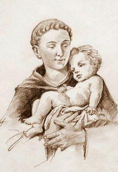 St Anthony Prayer, Saint Anthony Of Padua, Oracion A San Antonio, Charity, Catholic, Madonna, Saints, Prayers, Religion