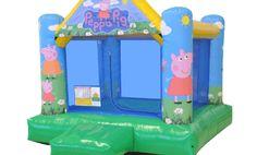 Pula-pula Peppa Pig   Aluguel de pula-pula , aluguel de cama elástica