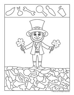 Six easy hidden picture printables for St. Preschool Writing, Preschool Activities, Childrens Word Search, Hidden Pictures Printables, Printable Valentines Coloring Pages, Diy Crafts For Kids Easy, Paper Games, Grande Section, Hidden Objects