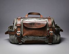 Paratrooper Camera Bag by Wotoncraft Atelier.