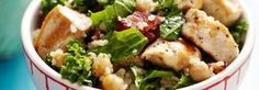 PMS Power Salad recipe. Full of foods that battle PMS symptoms!